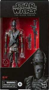 Hasbro Star Wars The Black Series IG-11 Droid Action Figure 6-inch Scale - Garrison City Toy Work's