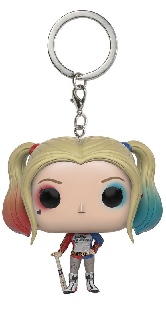 Funko POP Keychain: Suicide Squad - Harley Quinn Action Figure - Garrison City Toy Work's