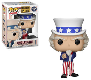 Funko Pop Icons American History #12 Uncle Sam Exclusive - Garrison City Toy Work's