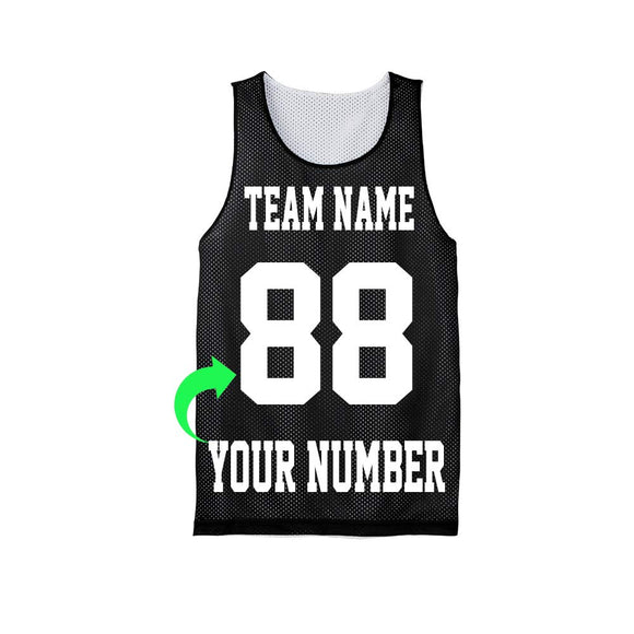 Personalize Your Own Basketball Jersey with Your Custom Name and Number (Black, Adult X-Small) - Garrison City Toy Work's