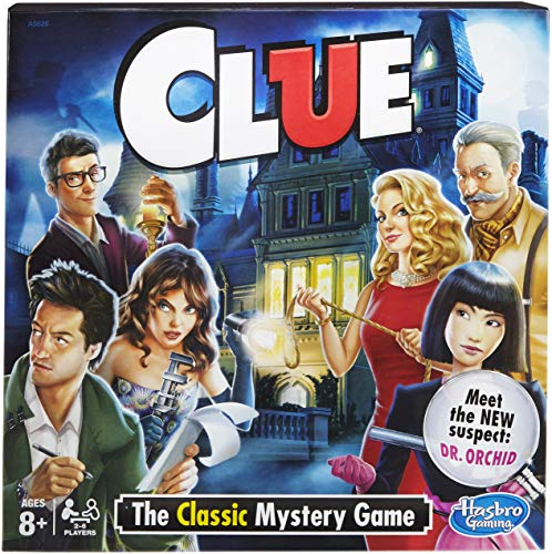 Clue Game - Garrison City Toy Work's