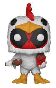 Funko Pop Marvel: Deadpool - Chicken Suit Collectible Figure, Multicolor - Garrison City Toy Work's