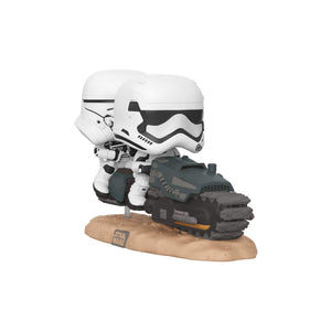 Funko Pop! Movie Moments Star Wars: Episode 9, Rise of Skywalker - First Order Tread Speeder - Garrison City Toy Work's