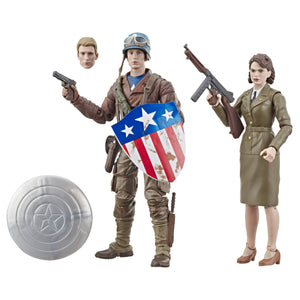 "Marvel Legends Series Captain America: The First Avenger 6""-Scale Movie-Inspired - Garrison City Toy Work's"