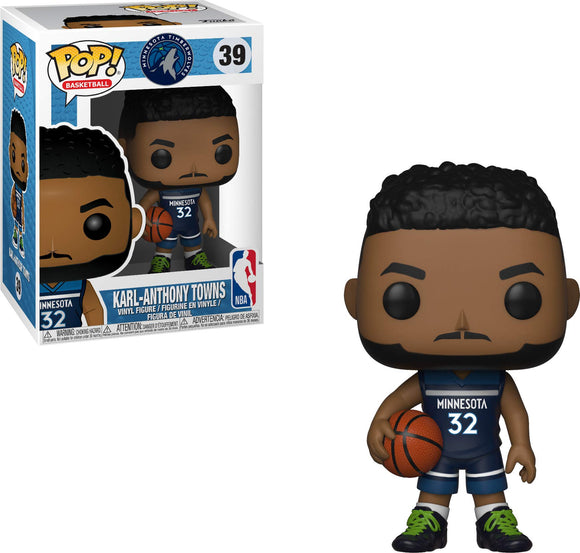 Funko POP! NBA: Timberwolves - Karl-Anthony Towns - Garrison City Toy Work's
