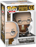 Funko Pop! Icons: History - Benjamin Franklin, Multicolor - Garrison City Toy Work's
