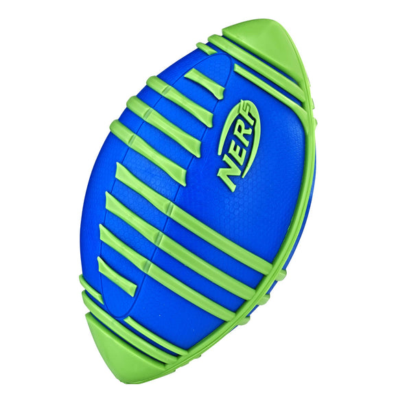 Nerf Sports Weather Blitz Football (blue) - Garrison City Toy Work's