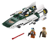 LEGO Star Wars: The Rise of Skywalker Resistance A-Wing Starfighter - Garrison City Toy Work's