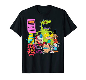 Nickelodeon Throwback Retro Character T-Shirt - Garrison City Toy Work's