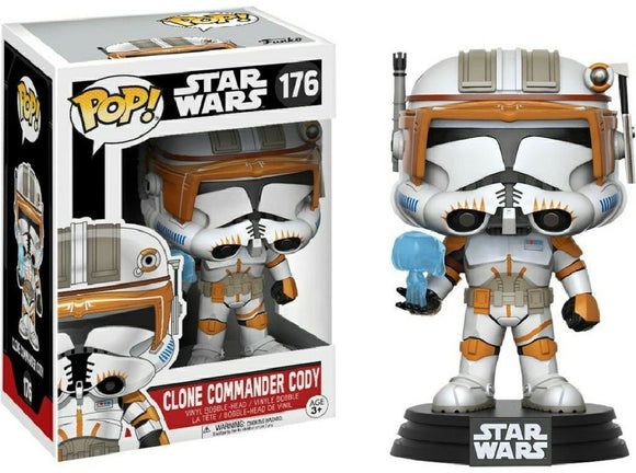 Funko Commander Cody Pop! - Garrison City Toy Work's