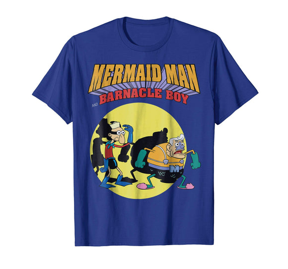 Nickelodeon Spongebob Mermaid Man T-Shirt - Garrison City Toy Work's