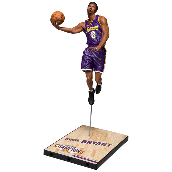 McFarlane Toys Kobe Bryant 2001 NBA Finals Action Figure - Garrison City Toy Work's