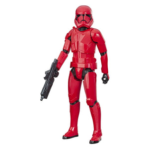 "Star Wars Hero Series The Rise of Skywalker Sith Trooper Toy 12"" Scale Action Figure, Toys for Kids Ages 4 & Up - Garrison City Toy Work's"