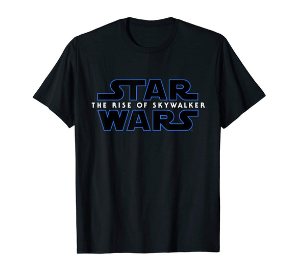 Star Wars The Rise of Skywalker Movie Logo T-Shirt - Garrison City Toy Work's