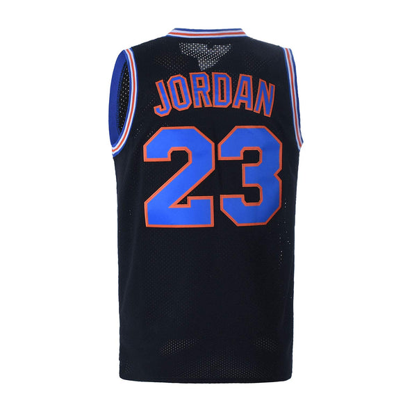 Basketball Jersey God 23 Space Jam Shirt Bunny Costume Tune Squad Jersey Basketball Jerseys for Men Black XXL - Garrison City Toy Work's