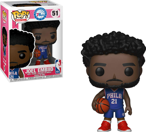 Funko POP! NBA: 76ers - Joel Embiid - Garrison City Toy Work's