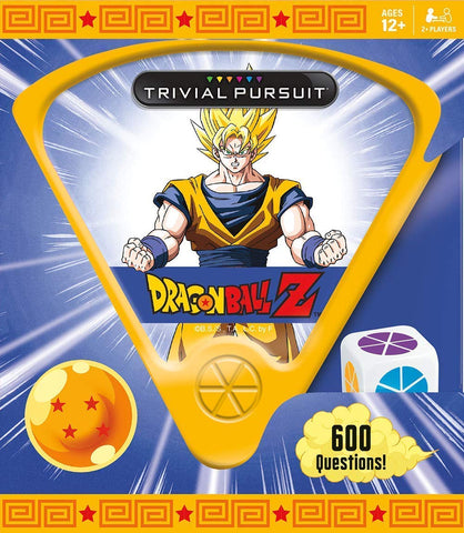 Trivial Pursuit Dragon Ball Z Quick Play Trivia Game