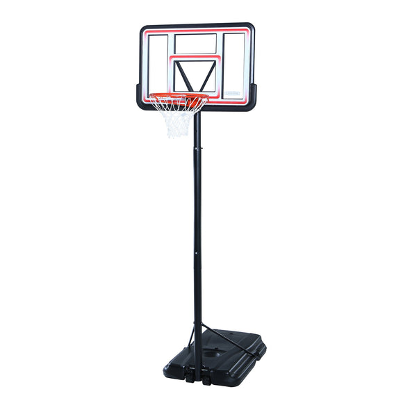 Lifetime 1269 Pro Court Height Adjustable Portable Basketball System, 44 Inch Backboard - Garrison City Toy Work's