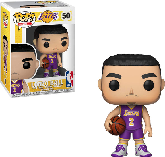 Funko POP! NBA: Lakers - Lonzo Ball - Garrison City Toy Work's