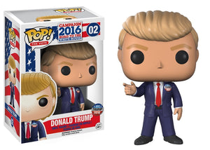 Funko POP! The Vote Campaign 2016 Road To The White House #02 Vinyl Figure - Donald Trump - Garrison City Toy Work's