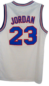 WELETION 23# Space Moive Jersey Mens Basketball Jersey White Small - Garrison City Toy Work's