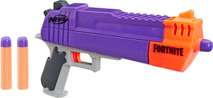 NERF Fortnite HC-E Mega Dart Blaster -- Includes 3 Official Mega Fortnite Darts -- for Youth, Teens, Adults - Garrison City Toy Work's