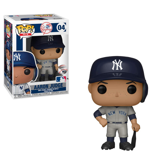 Funko POP! MLB: Aaron Judge (Road) - Garrison City Toy Work's