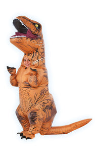 Rubie's Jurassic World T-Rex Inflatable Costume, Child's Size Small - Garrison City Toy Work's