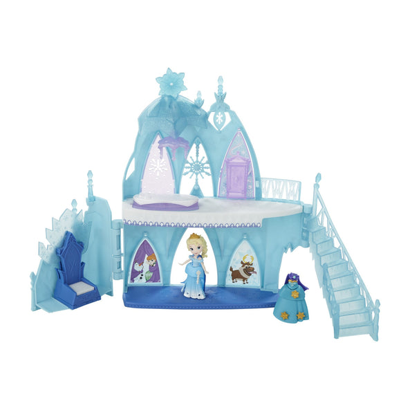 Disney Frozen Little Kingdom Elsa's Frozen Castle - Garrison City Toy Work's
