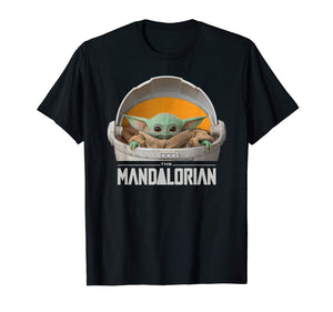 Star Wars The Mandalorian The Child Floating Pod T-Shirt - Garrison City Toy Work's