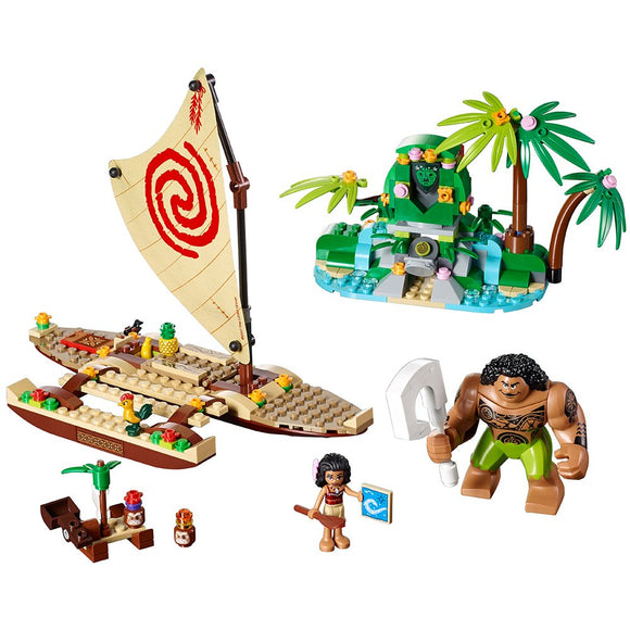 LEGO Disney Princess Moana's Ocean Voyage 41150 Disney Moana Toy - Garrison City Toy Work's