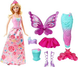Barbie Fairytale Dress Up, Blonde (Packaging May Vary) - Garrison City Toy Work's