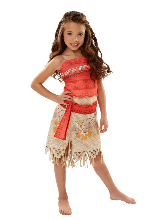 Disney Moana Girls Adventure Outfit , Size 4-6X - Garrison City Toy Work's