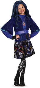 Evie Isle of the Lost Deluxe Costume, Multi-colored, X-Large - Garrison City Toy Work's