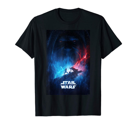 Star Wars The Rise of Skywalker Poster T-Shirt - Garrison City Toy Work's