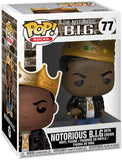 Funko Pop Rocks: Music - Notorious B.I.G. with Crown Collectible Figure, Multicolor - Garrison City Toy Work's