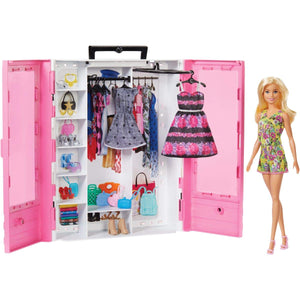 Barbie Fashionistas Ultimate Closet Doll and Accessories - Garrison City Toy Work's