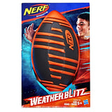 Nerf Sports Weather Blitz Football, Red/Black - Garrison City Toy Work's
