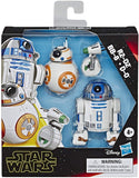 Star Wars E3118 Galaxy of Adventures R2-D2, BB-8, D-O Action Figure 3 Pack - Garrison City Toy Work's