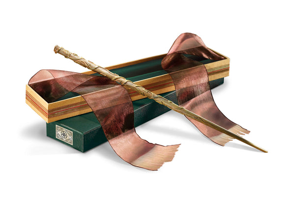 Hermione Granger's Wand with Ollivanders Wand Box - Garrison City Toy Work's