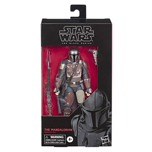 "Star Wars The Black Series The Mandalorian Toy 6"" Scale Collectible Action Figure, Toys for Kids Ages 4 & Up - Garrison City Toy Work's"