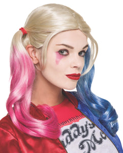 Rubie's Costume Co. Women's Suicide Squad Harley Quinn Value Wig, As Shown, One Size - Garrison City Toy Work's