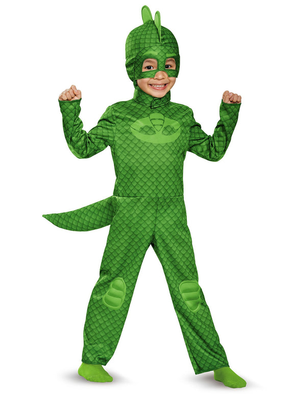 Gekko Classic Toddler PJ Masks Costume, Large/4-6 - Garrison City Toy Work's
