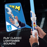 Star Wars Scream Saber Lightsaber Toy, Record Your Own Inventive Lightsaber Sounds & Pretend to Battle, for Kids Roleplay Ages 4 & Up - Garrison City Toy Work's