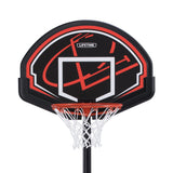 "Lifetime 90022 32"" Youth Portable Basketball Hoop, Red/Black - Garrison City Toy Work's"