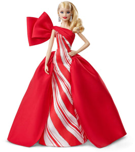 Barbie 2019 Holiday Doll, Blonde - Garrison City Toy Work's