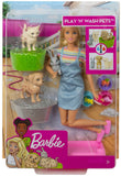 Barbie Play 'N' Wash Pets Doll & Playset, Multicolor - Garrison City Toy Work's