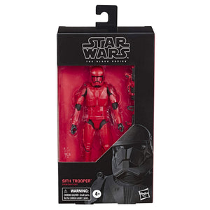 "Star Wars The Black Series Sith Trooper Toy 6"" Scale The Rise of Skywalker Collectible Action Figure, Kids Ages 4 & Up - Garrison City Toy Work's"