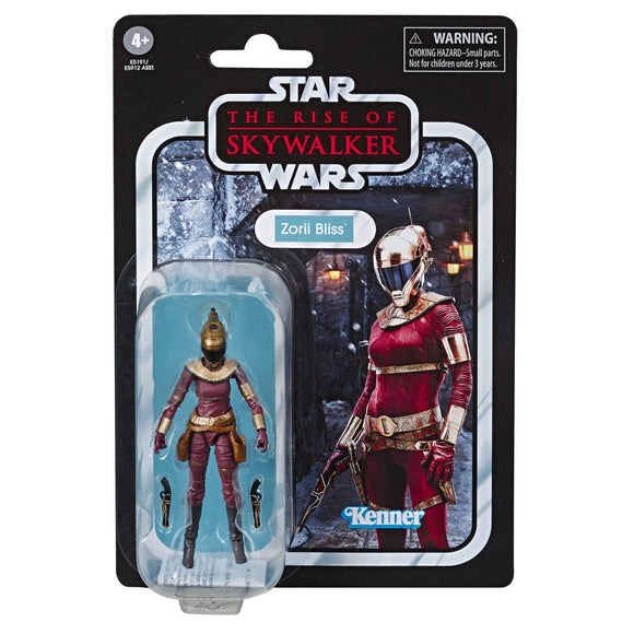 Star Wars The Vintage Collection The Rise of Skywalker Zorii Bliss Toy, 3.75