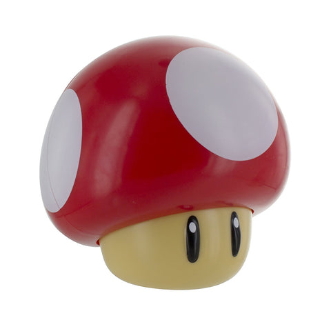 Super Mario Toad Mushroom Table Lamp - Night Light - Garrison City Toy Work's